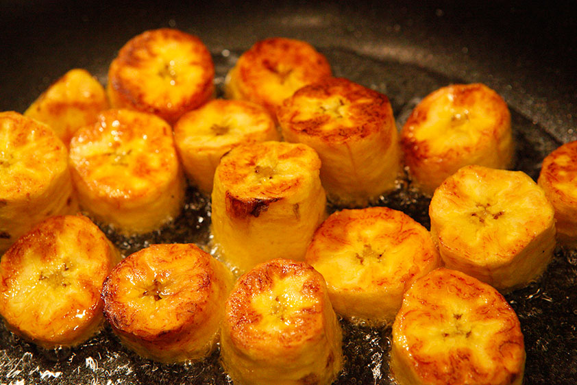 Patacones (like Plantain Chips, but better!)