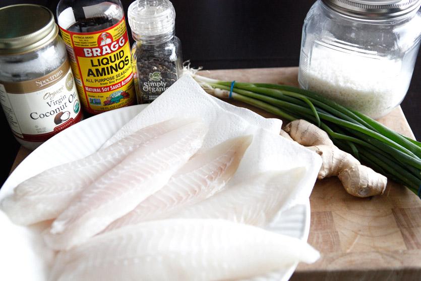 Ginger Garlic Tilapia