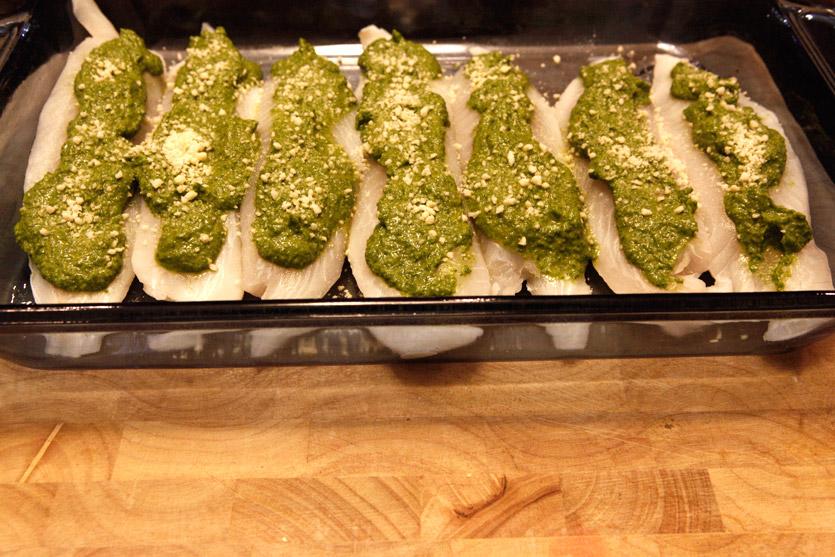 Pesto Tilapia