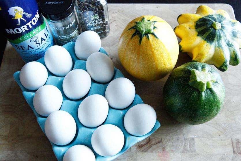 Squash and Egg Bake