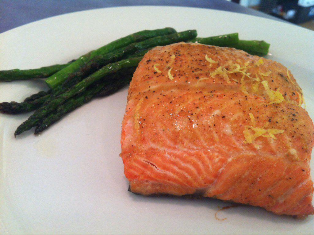 Salmon 2 Ways