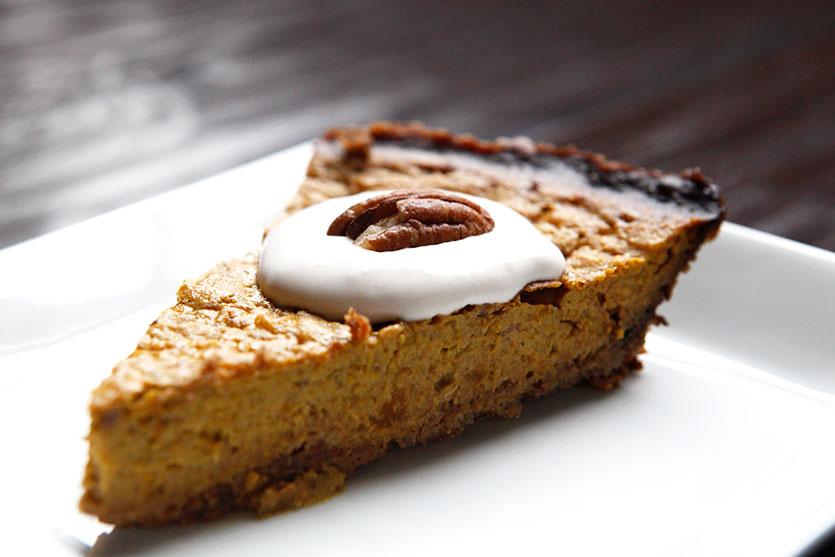 paleo pumpkin pie   by amazingpaleo