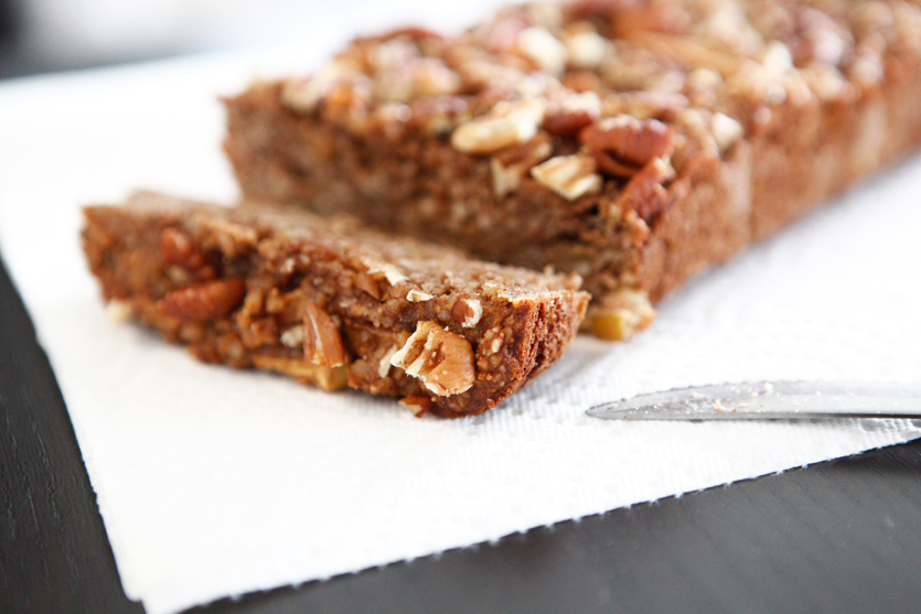 Apple Cinnamon Paleo Bread