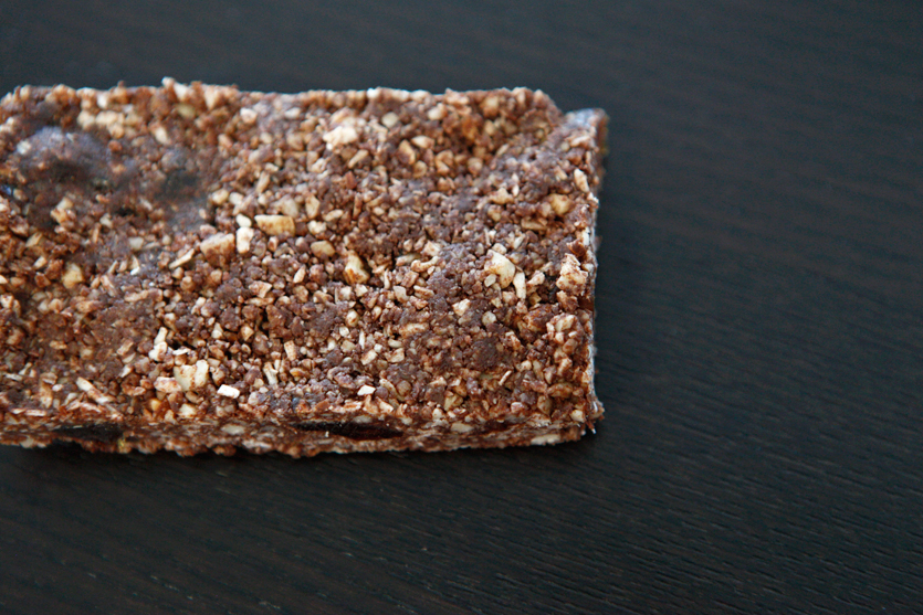 29 Paleo Treat Recipes- Chocolate Date Granola Bar