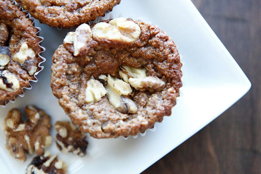 Banana Coconut Paleo Muffins