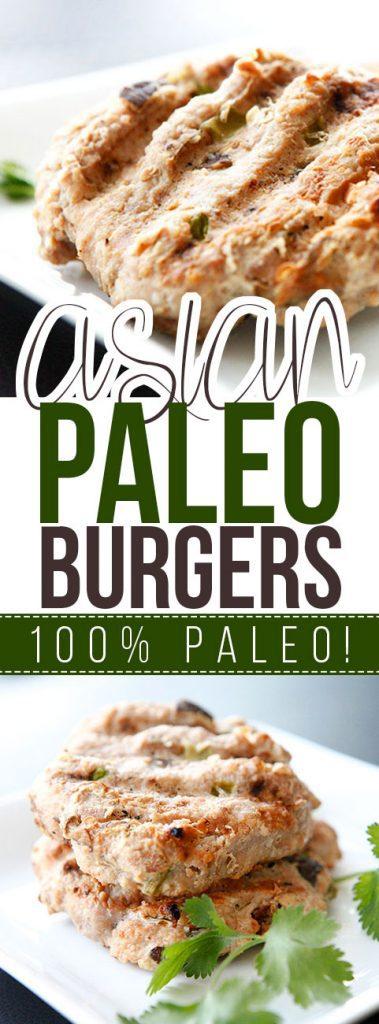 Asian Paleo Burgers