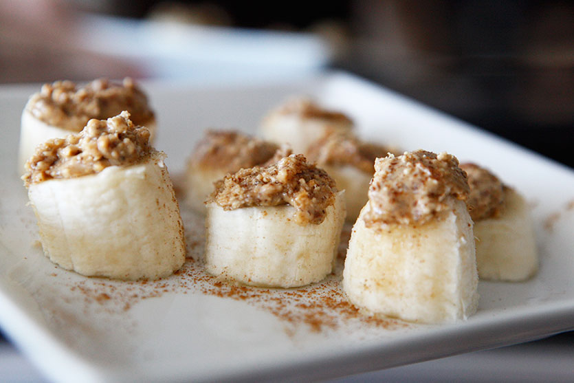 Paleo Almond Cinnamon Banana Snack idea by Amazing Paleo!