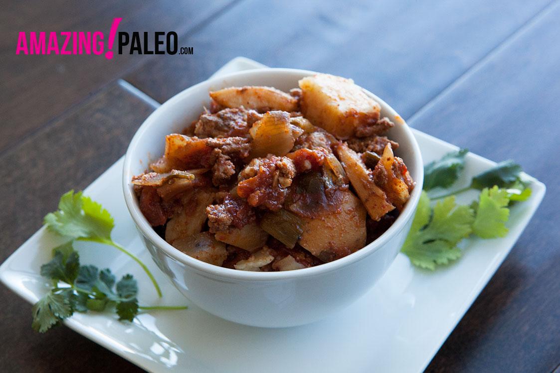 Paleo Slow Cooked Turkey And Sweet Potato