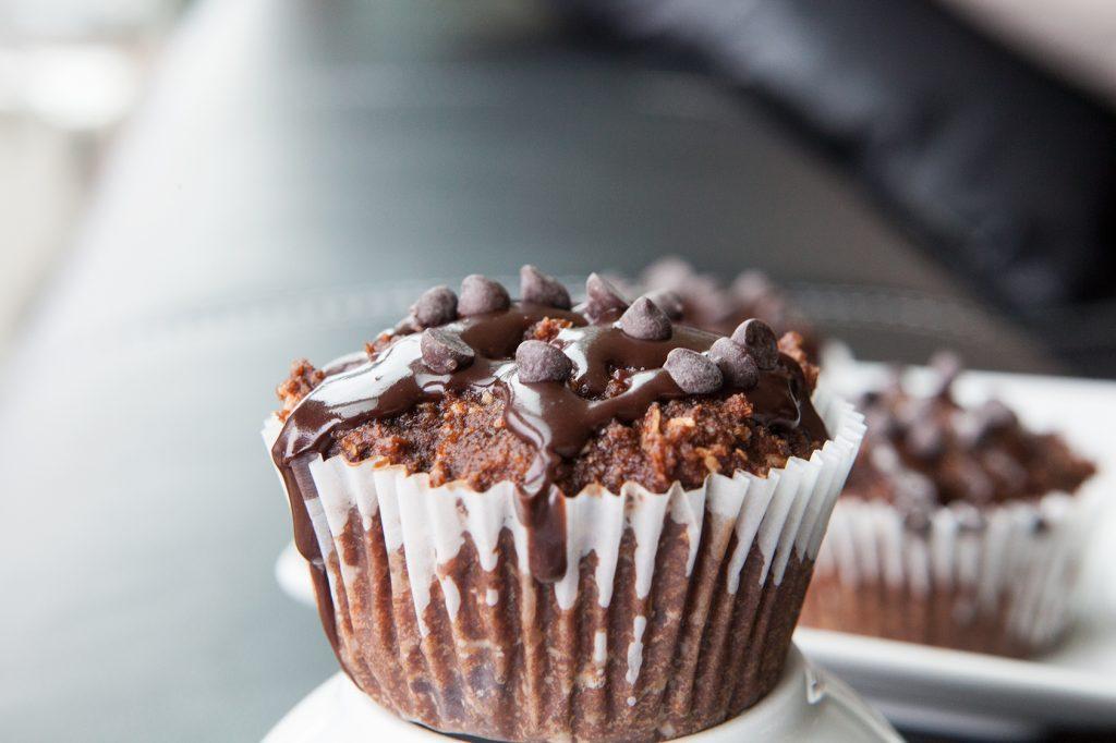 Paleo Triple Chocolate Muffins