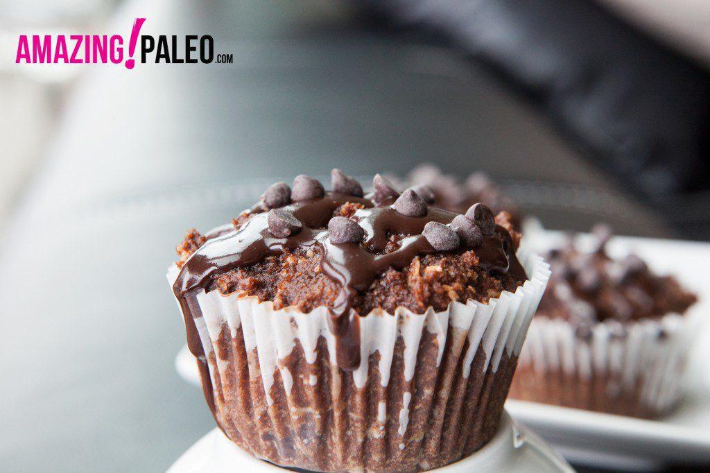 29 Paleo Treat Recipes- Paleo Triple Chocolate Muffins