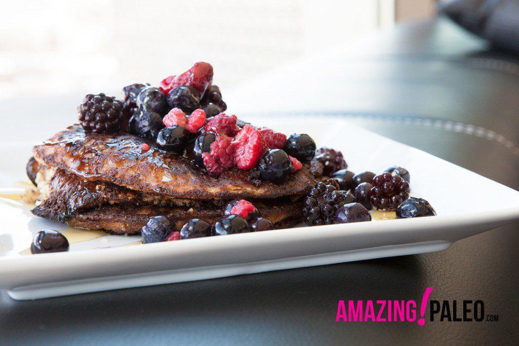 Simple Paleo Pancakes