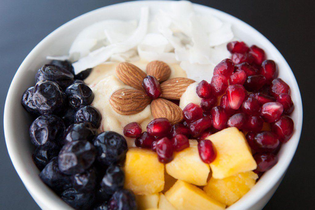 Sweet Mango Healthy Bowl