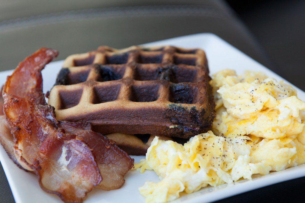 Amazing Paleo's Blueberry Cashew Waffle recipe - YUM!