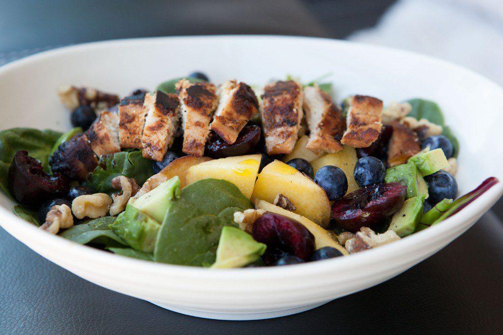 Cherry Walnut Summer Salad