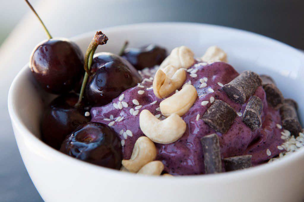 Amazing Paleo's Healthy Bowl - Blackberry Bliss with Cherries on Top!