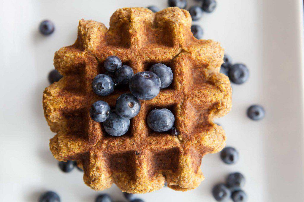 Amazing Paleo's Pumpkin Coconut Waffle recipe - so delicious!