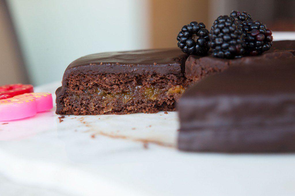 Awesome Nut Free Chocolate Birthday Cake By Amazingpaleo Com Personalised Birthday Cards Cominlily Jamesorg