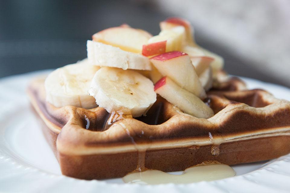 Fluffy Protein Powder Waffles