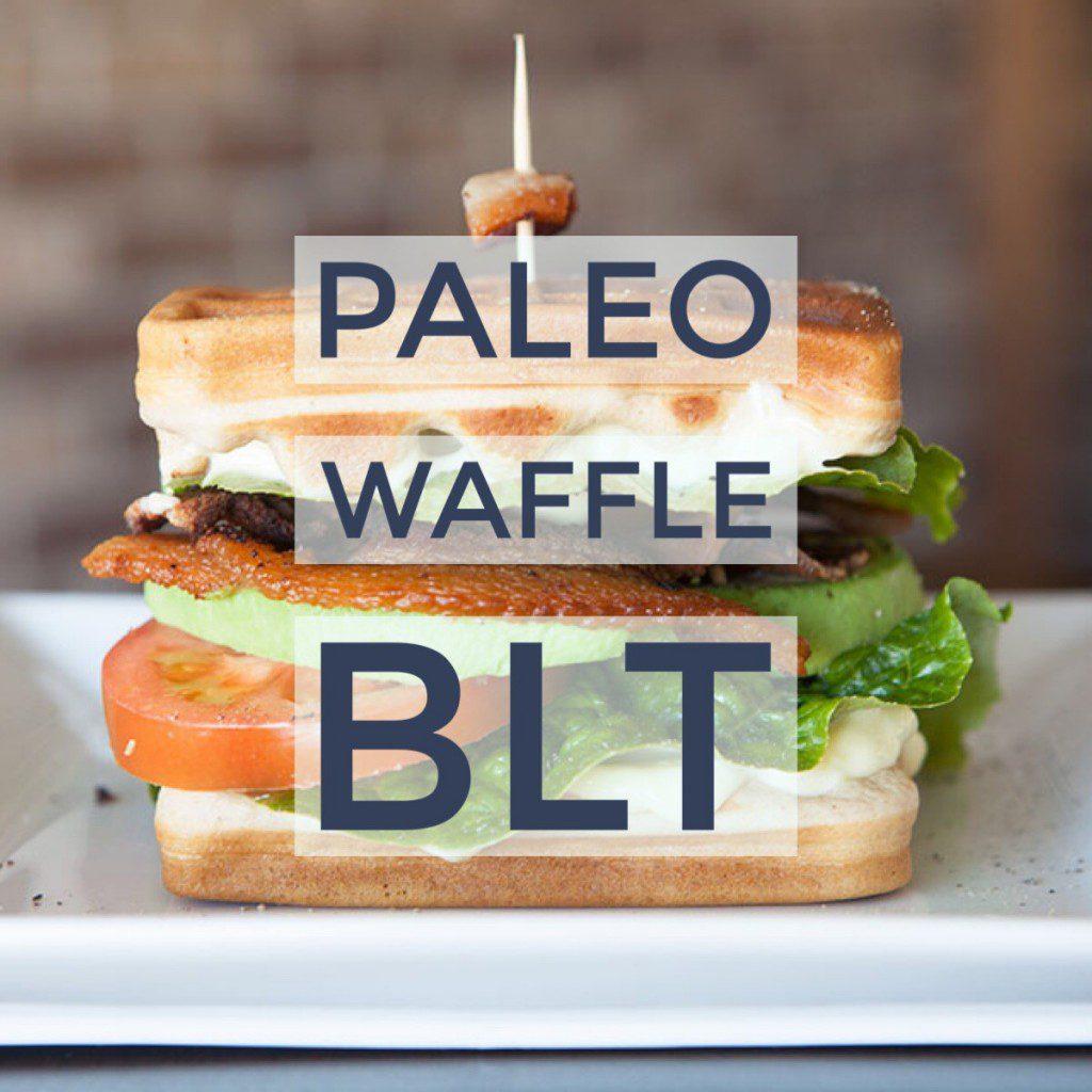 Paleo Waffle BLT