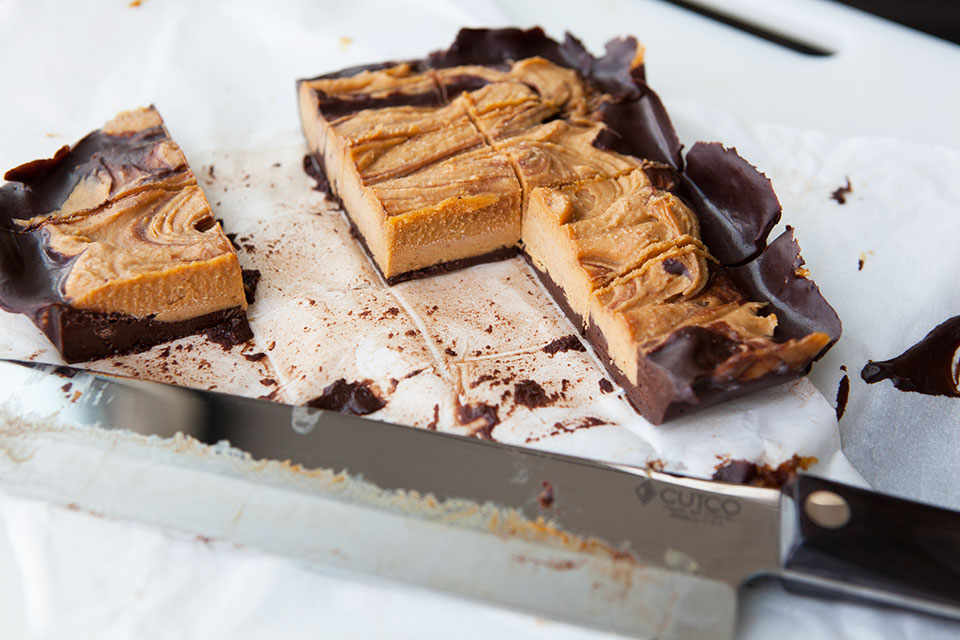 Pumpkin Chocolate Swirl Bars