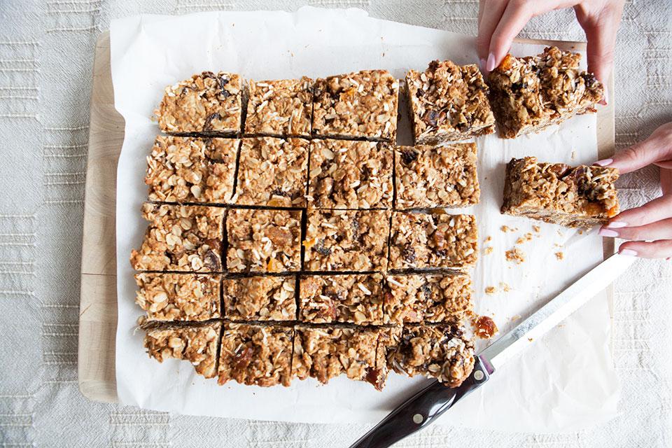 Gluten Free Breakfast Bars Recipe