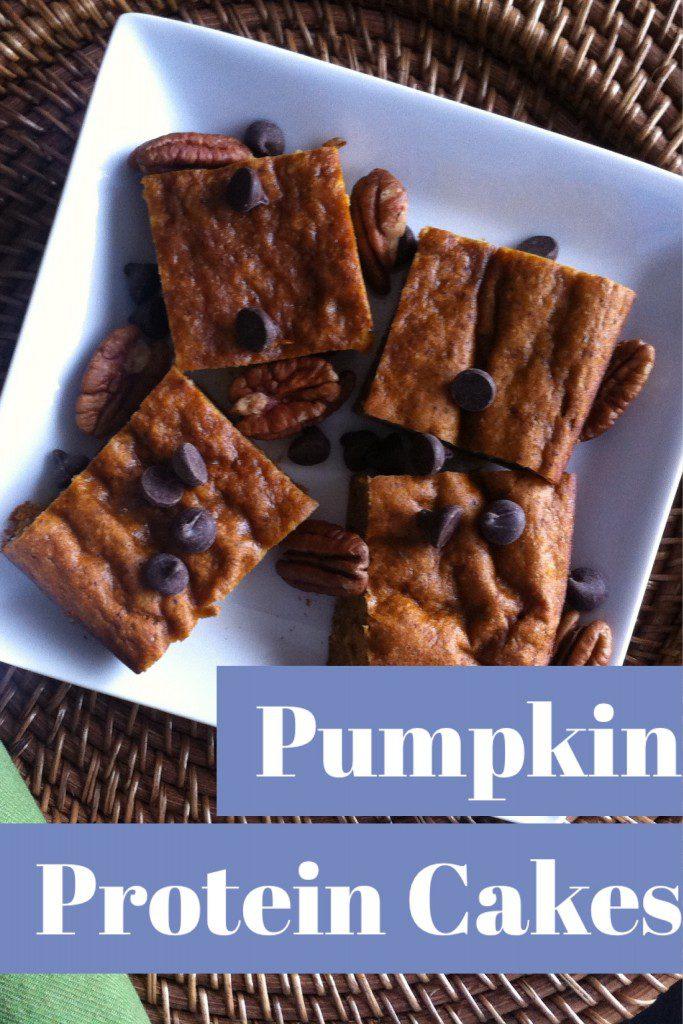 Pumpkin Protein Cakes