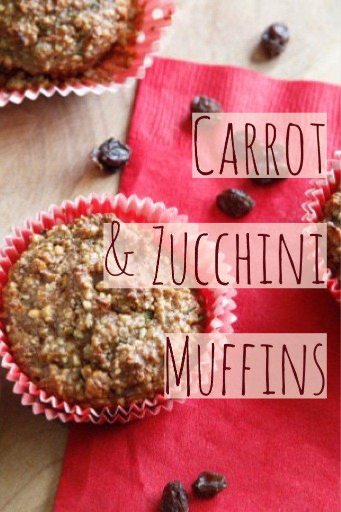 Carrot and Zucchini Muffins