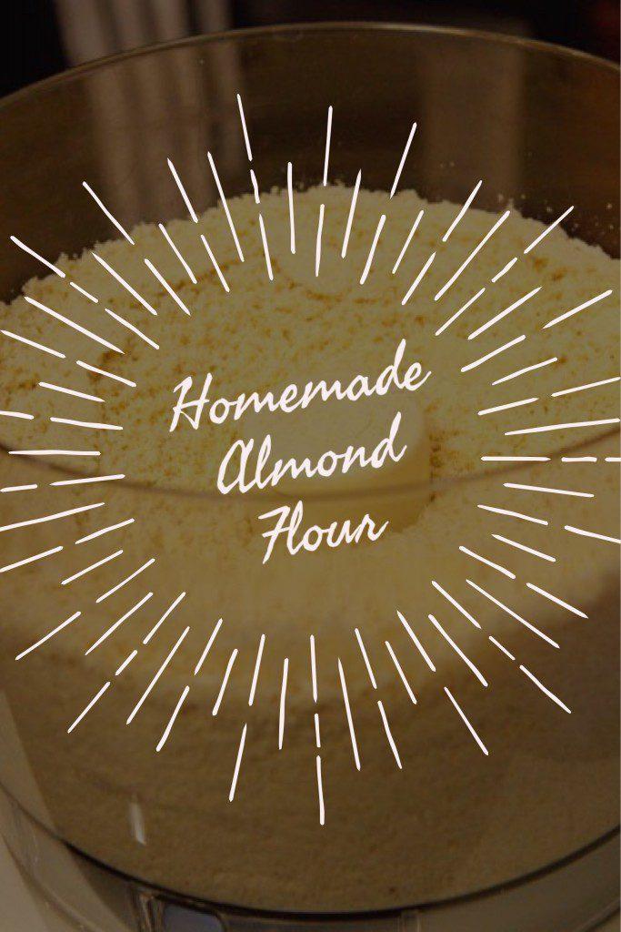 How To Make Homemade Almond Flour
