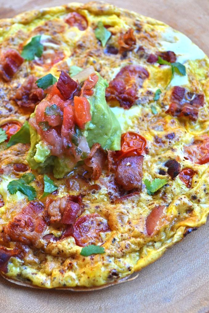 Bacon Taco Frittata