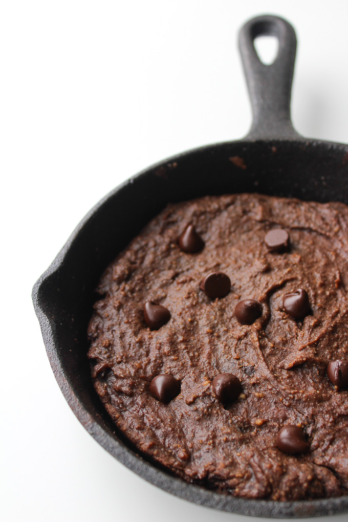 AVOCADO BROWNIES FOR TWO