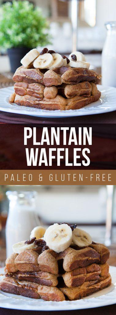 Paleo Plantain Waffles