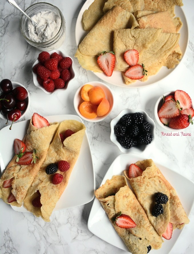 LOW CARB CREPES & PANCAKES