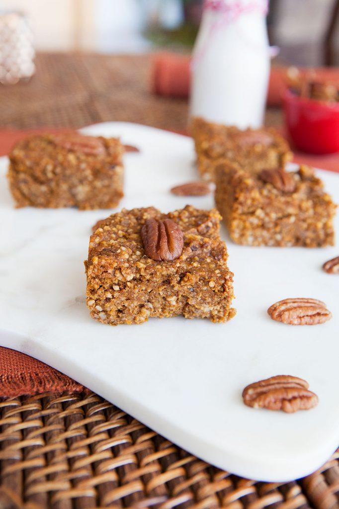 Pumpkin Pie Paleo Soft Bars