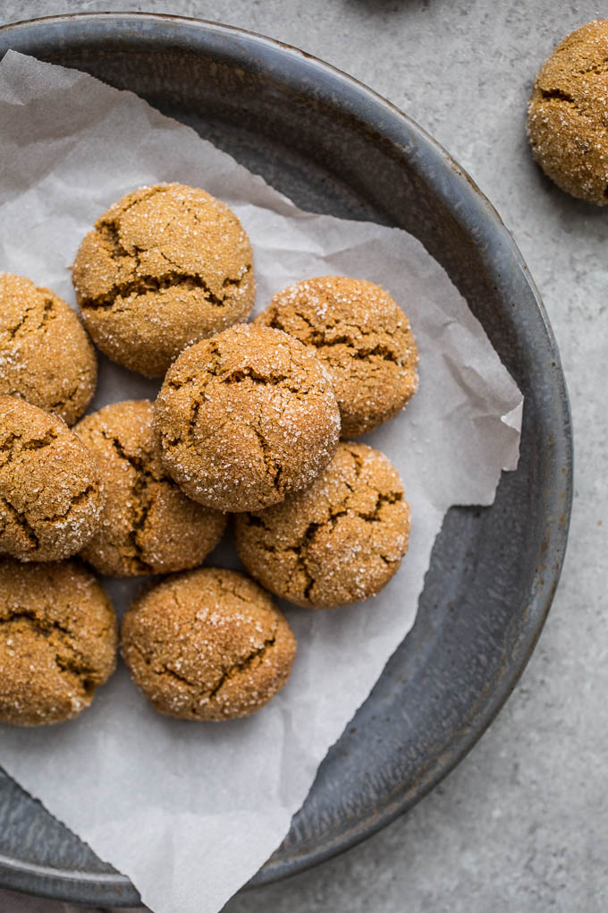 CHEWY GLUTEN-FREE GINGERSNAPS