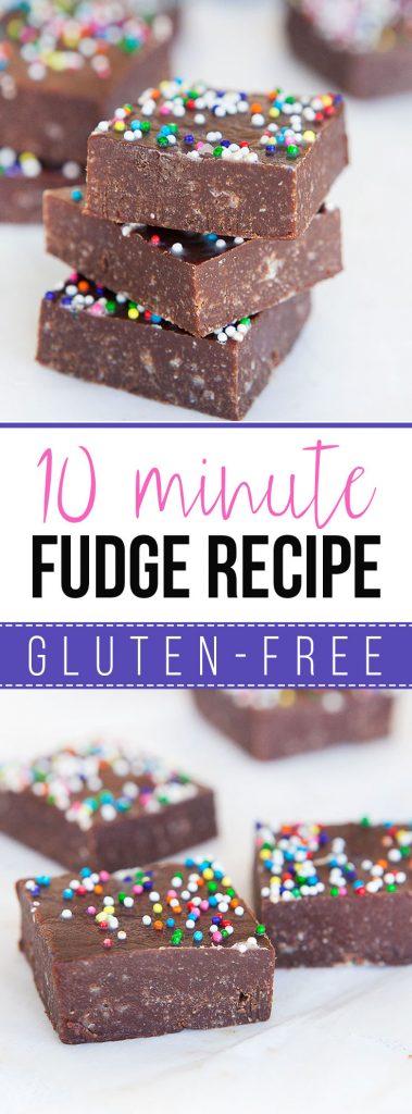 10 Minute Fudge