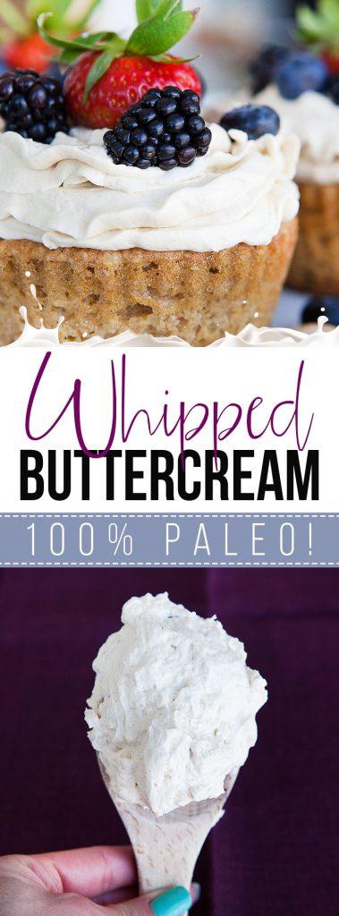 Paleo Whipped Buttercream