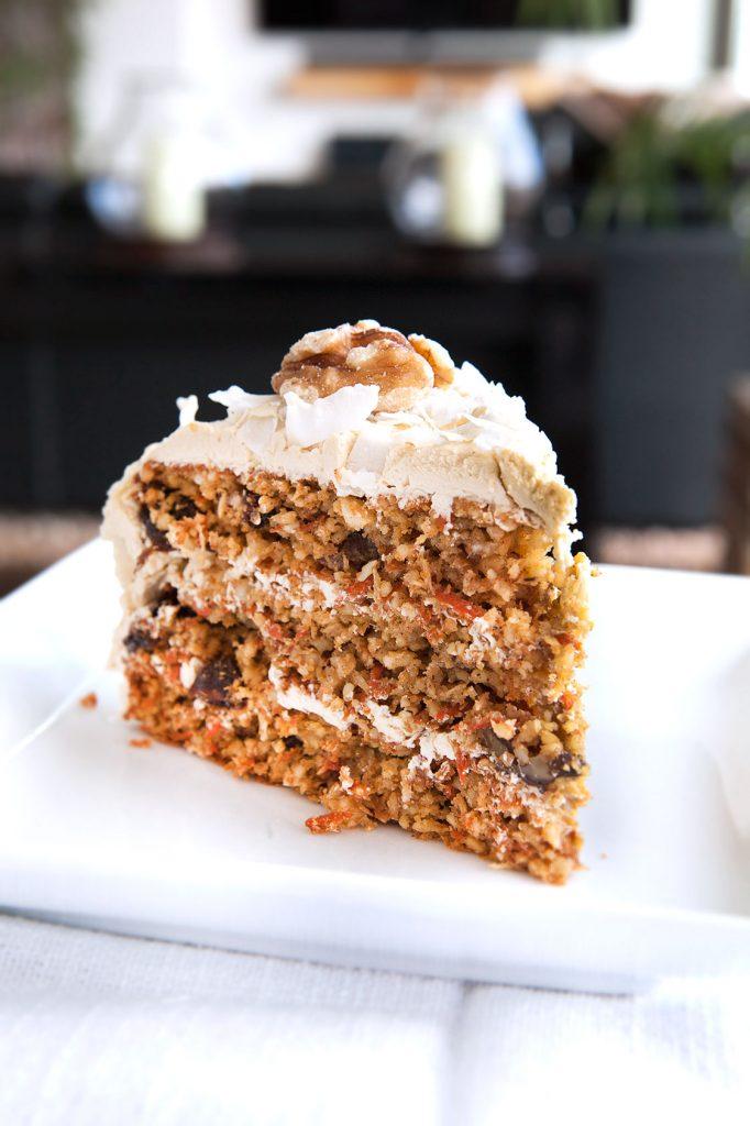 3 Layer Paleo Carrot Cake
