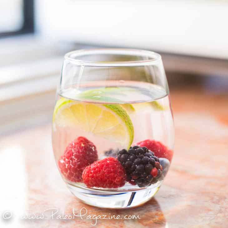EASY FLAVORED WATER RECIPE