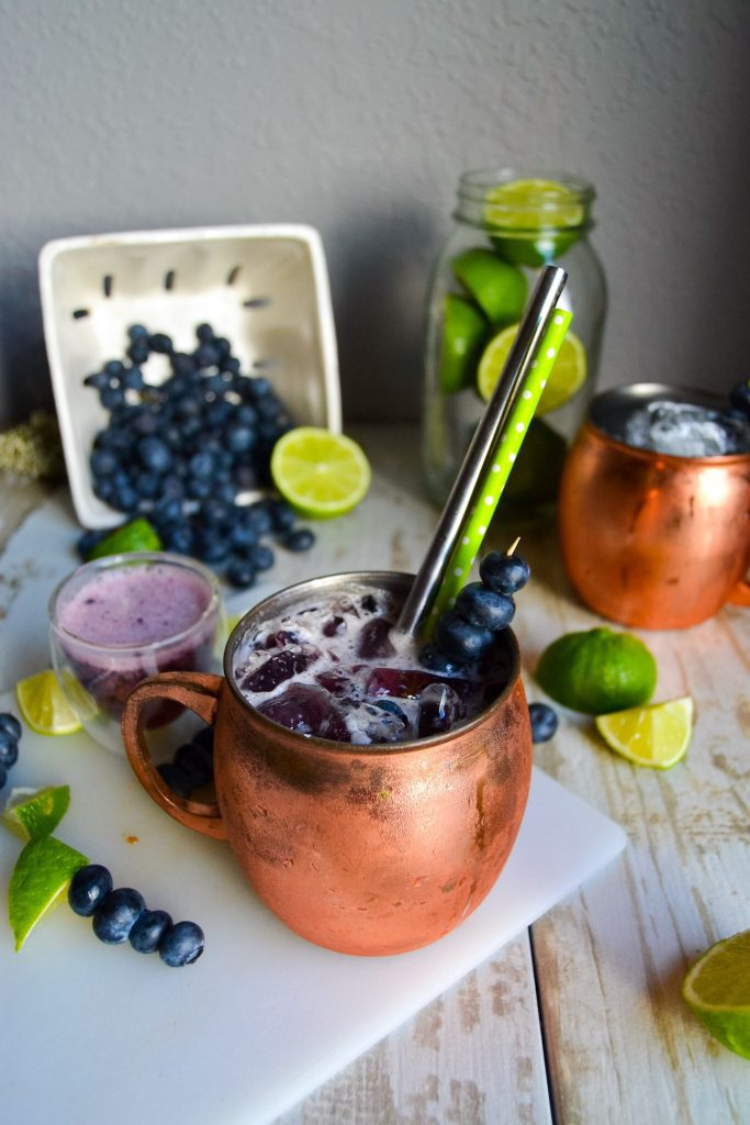 PALEO BLUEBERRY-LIME MOSCOW MULE