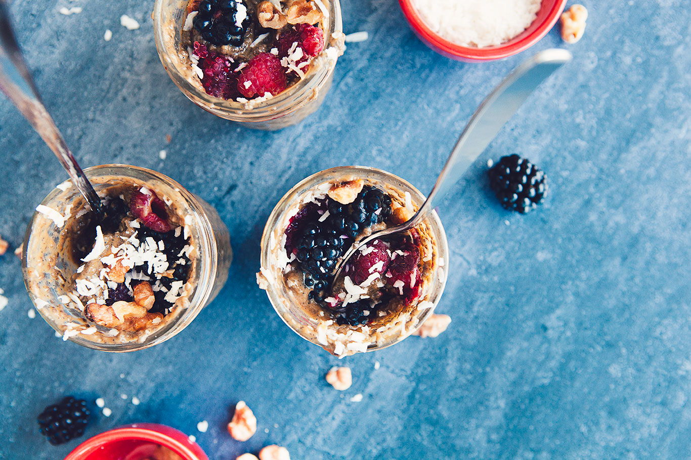 Watch Blueberry Chia Seed Pudding video