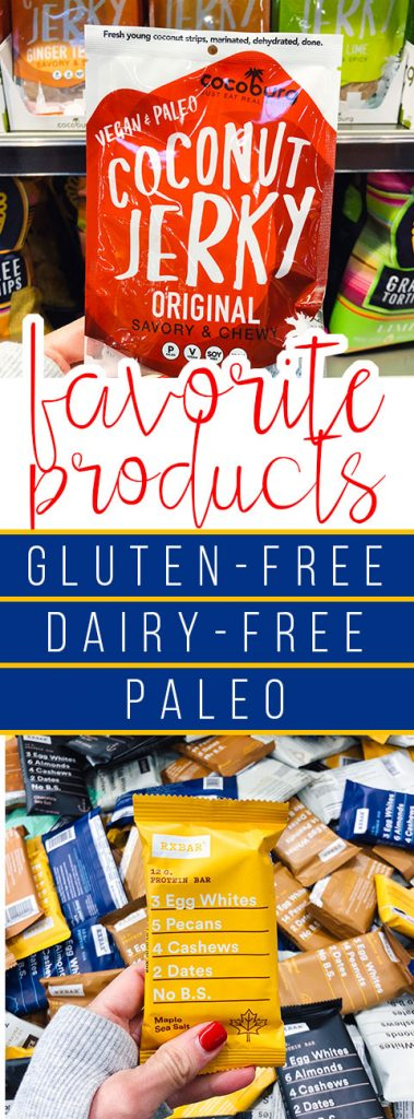 Paleo, Gluten Free and Dairy Free Product Guide