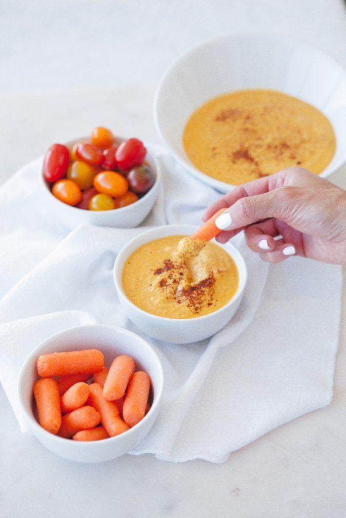 Curry Zucchini Hummus