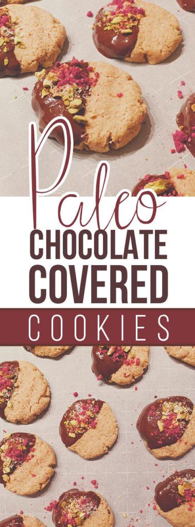 Paleo Chocolate Covered Cookies