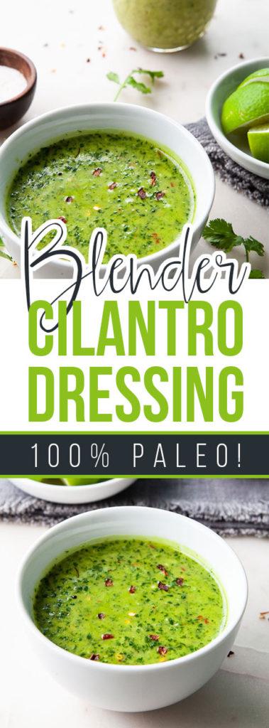 Paleo Cilantro Dressing
