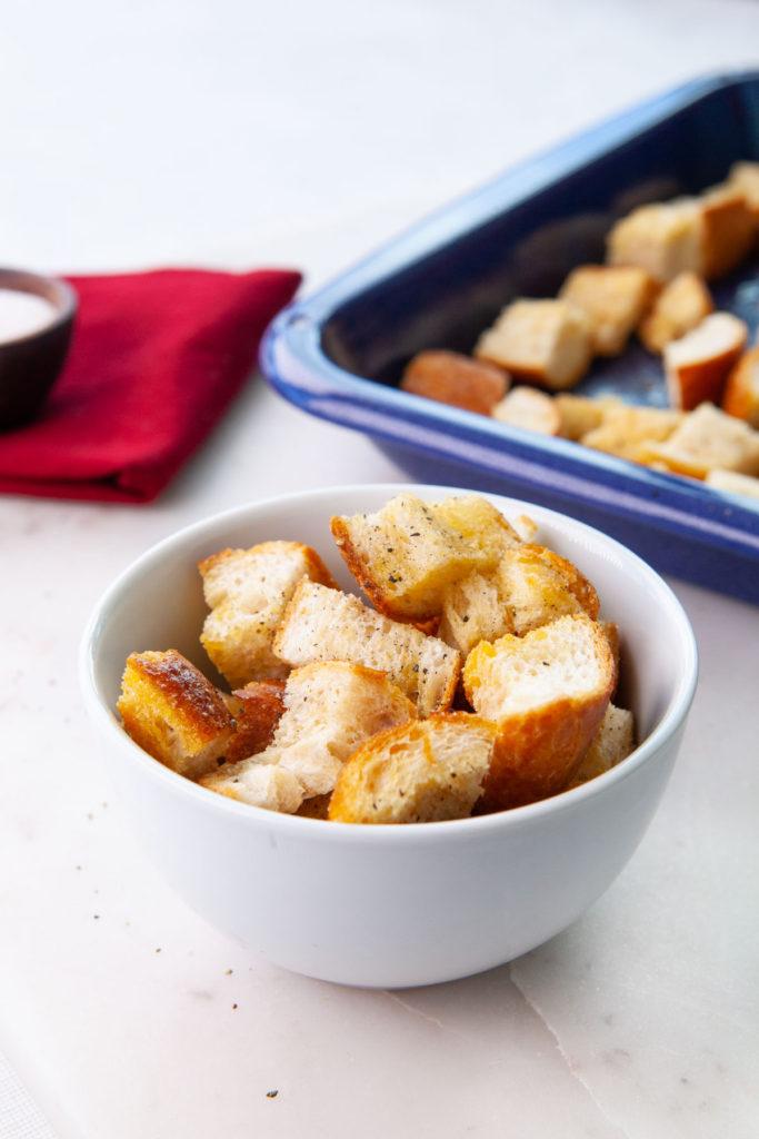 Homemade Sourdough Croutons