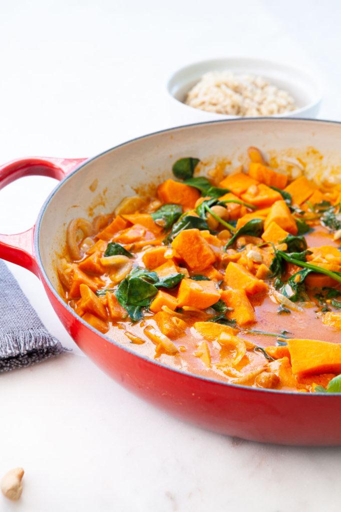 Vegan and Paleo Sweet Potato Red Curry