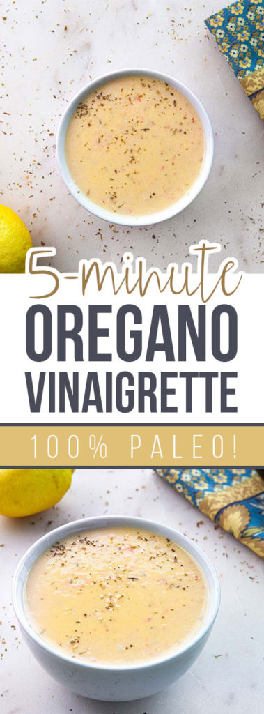 Oregano Vinaigrette