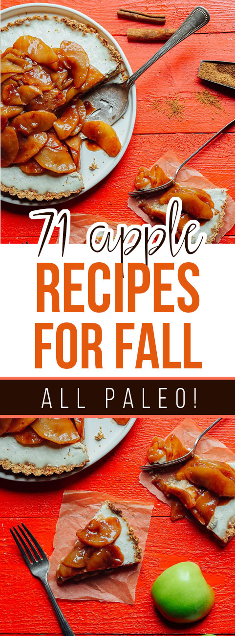 71 Amazing Paleo Apple Recipes for Fall