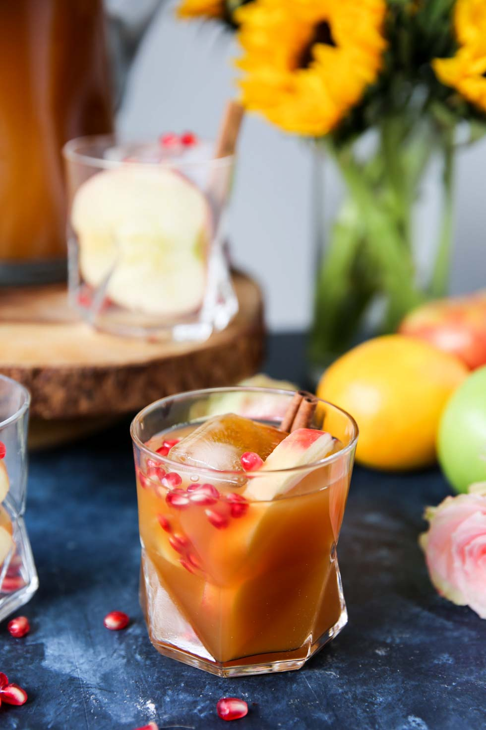 Apple Cider Vodka Punch