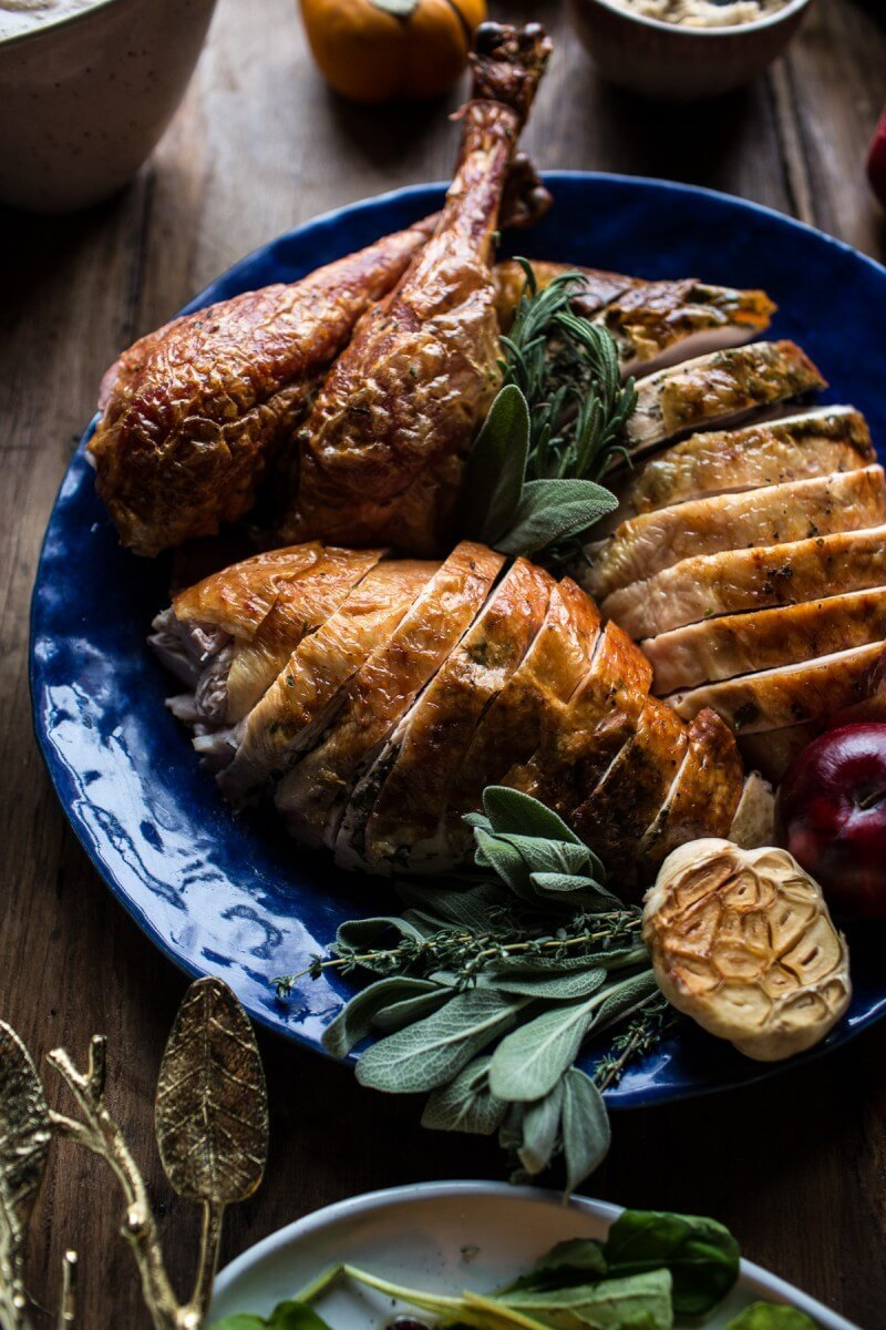 Herb And Butter Roasted Turkey